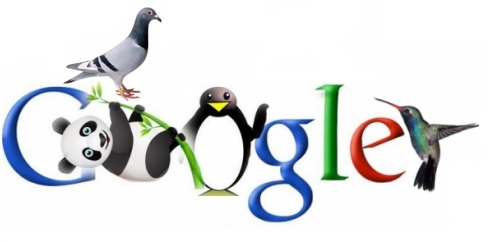 google-pinguino-panda-colibri-paloma