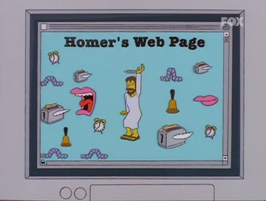 homer-web-page